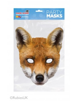Fox Card Mask Mask-arade
