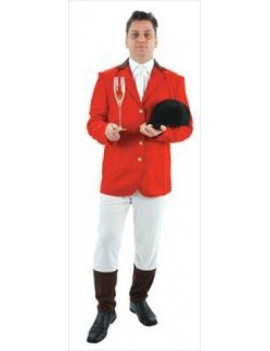 Fox hunt show jumper deluxe mens fancy dress party sports mens costume Palmer Agencies 3144