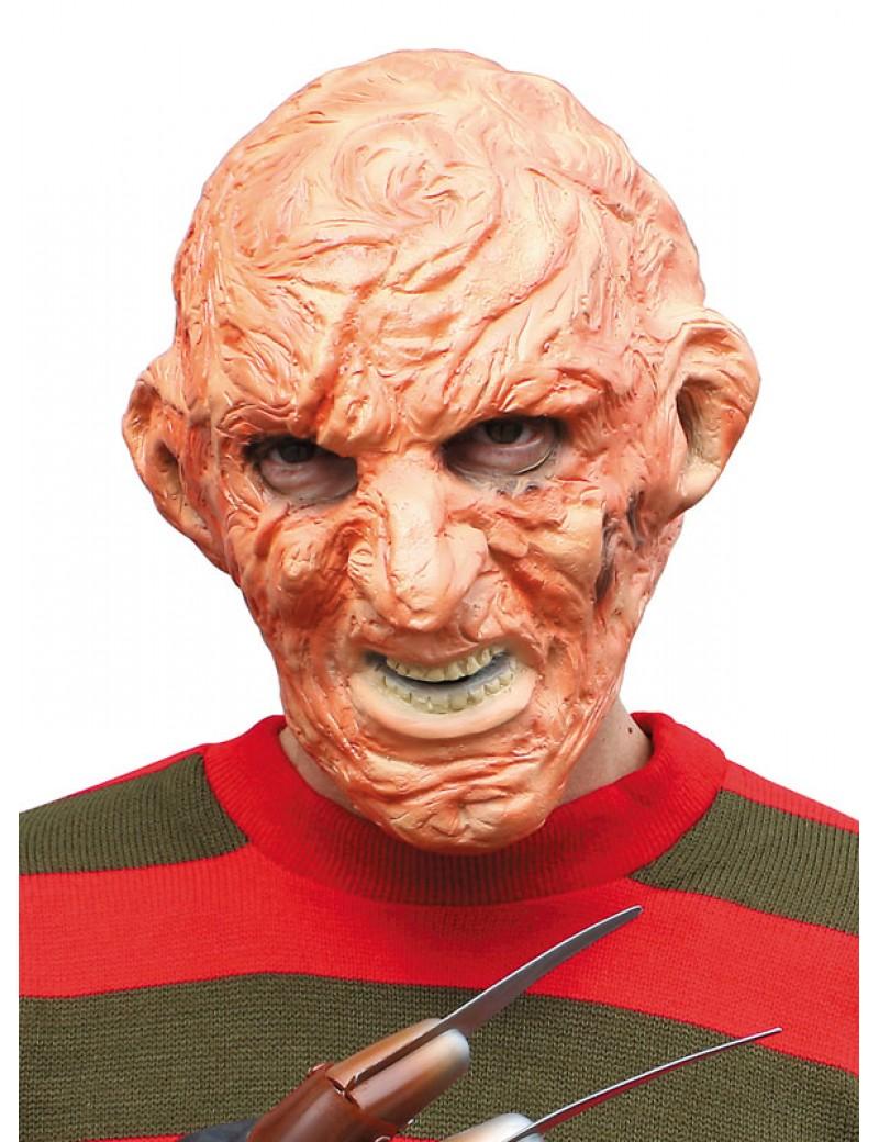 Freddy Krueger burnt man mens 80s tv film Halloween party rubber mask Palmer Agencies 1730B