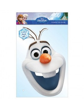 Frozen Olaf Disney cartoon character boys fancy dress costume party mask Mask-arade