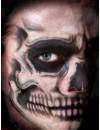 Face Skull Temporary Tattoo FX Tinsley Transfers CT-411