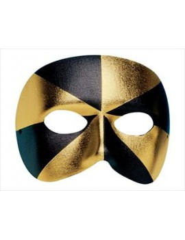 Eyemask Bi Colour Black And Gold Palmer Agencies 0665