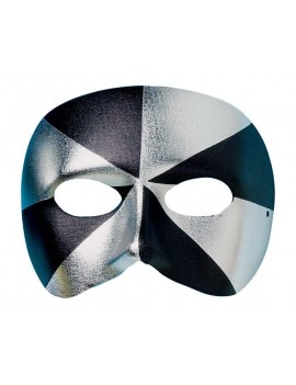 Eyemask Bi Colour Black And Silver Palmer Agencies 0666