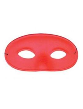 Gents satin nose masquerade costume ball Superhero eye mask red
