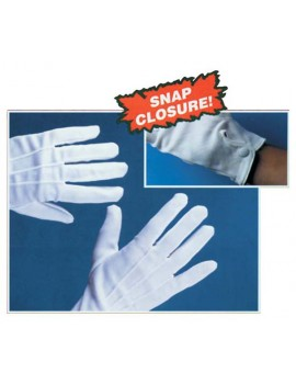 Gloves Short White Palmer Agencies 4472A