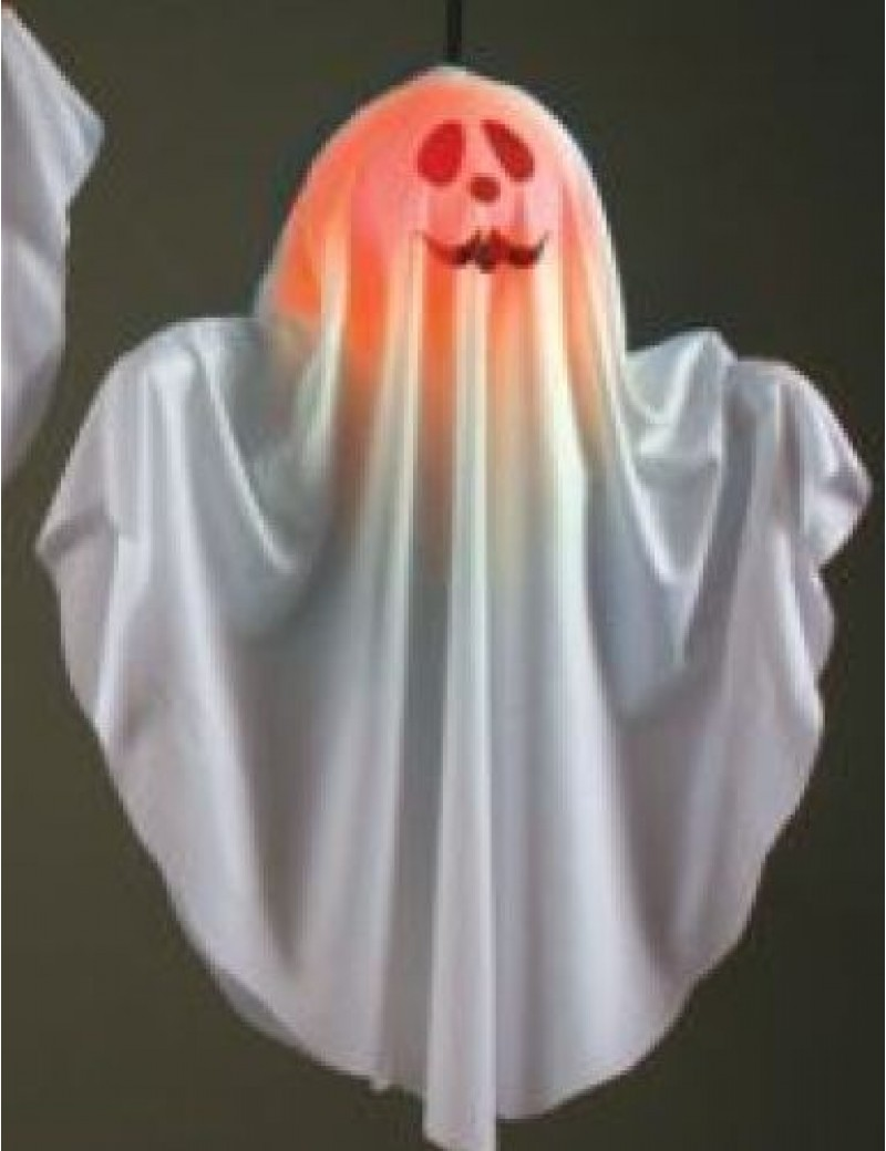 Ghost light up colour change hanging Halloween party room decoration Palmer Agencies 6508