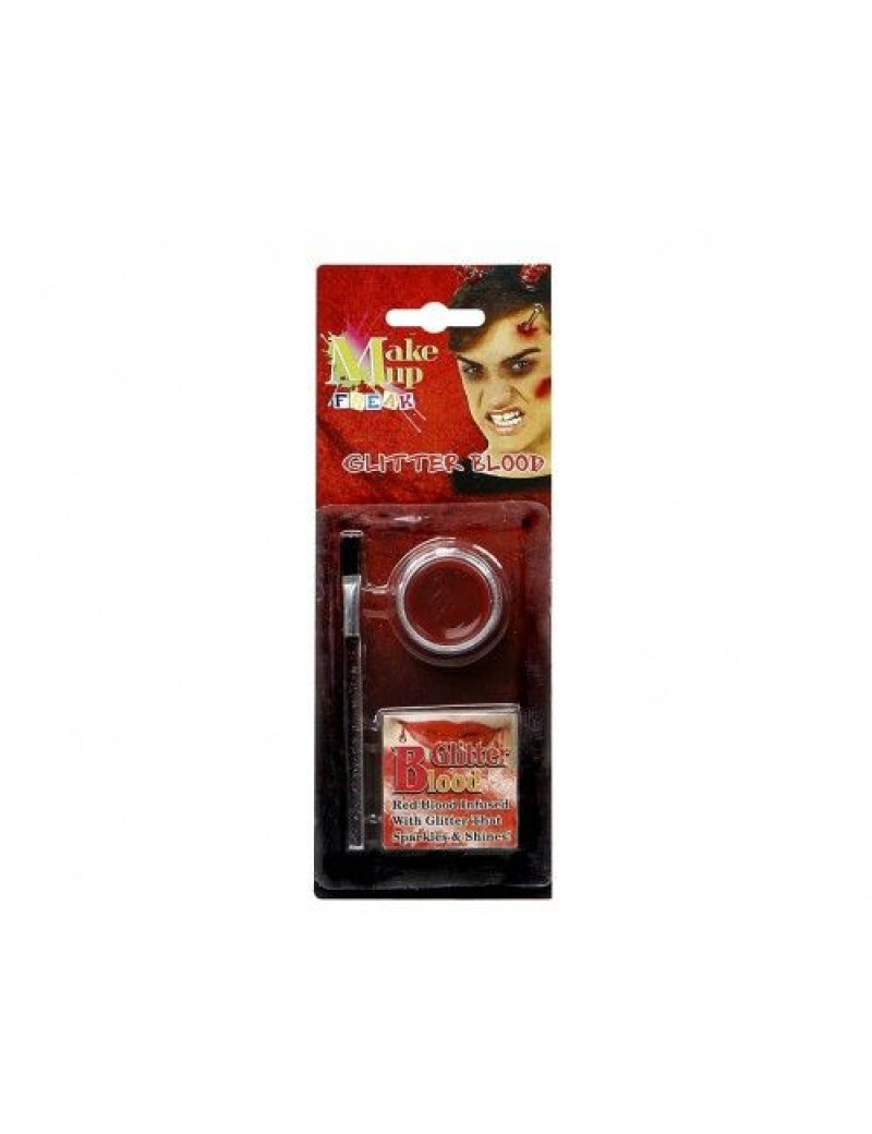 Glitter Blood Wax Halloween make up kit Atosa AT-07589