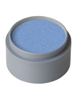 Grimas professional theatrical pearl water face paint make up 15ml blue 730