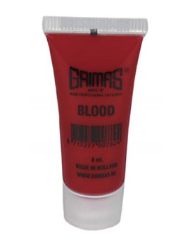 Grimas professional theatrical stage fancy dress costume Halloween party SFX blood 8ml tube