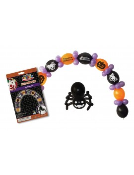 Halloween balloon arch room party  decoration kit Bristol Novelty NB046