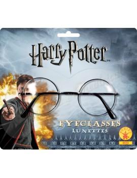 Harry Potter black framed clear lens tv film book day  official prop glasses Rubies 9705