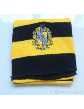 Harry Potter Hufflepuff scarf with house badge