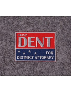 Harvey Dent District Attorney Costume Patch