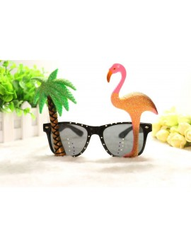 Hawaiian Beach Party flamingo palm tree novelty sunglasses ST2854