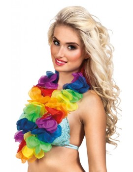 Hawaiian Rainbow Lei XL