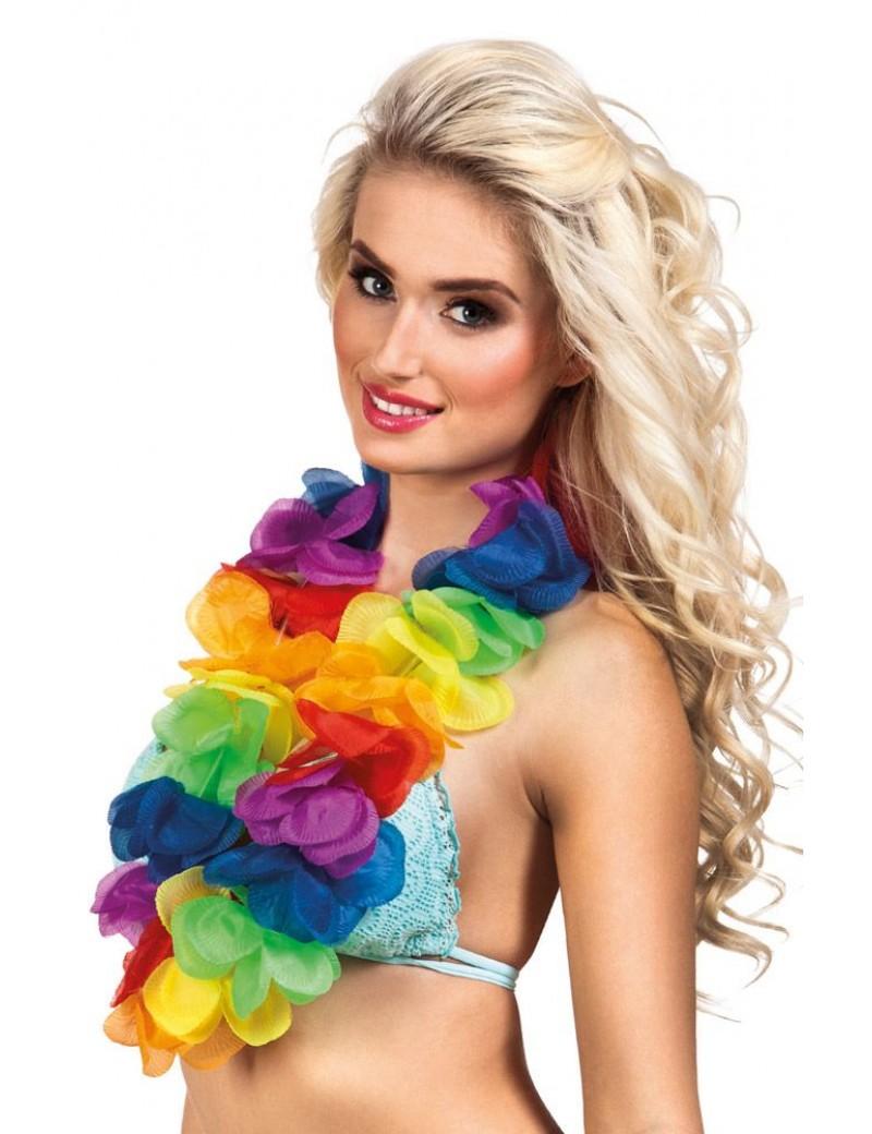 Hawaiian Rainbow Lei XL