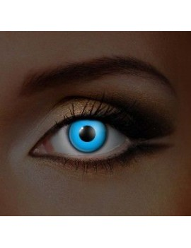 I Glow UV Blue 90 day Halloween eye accessories Funky Vision 83021