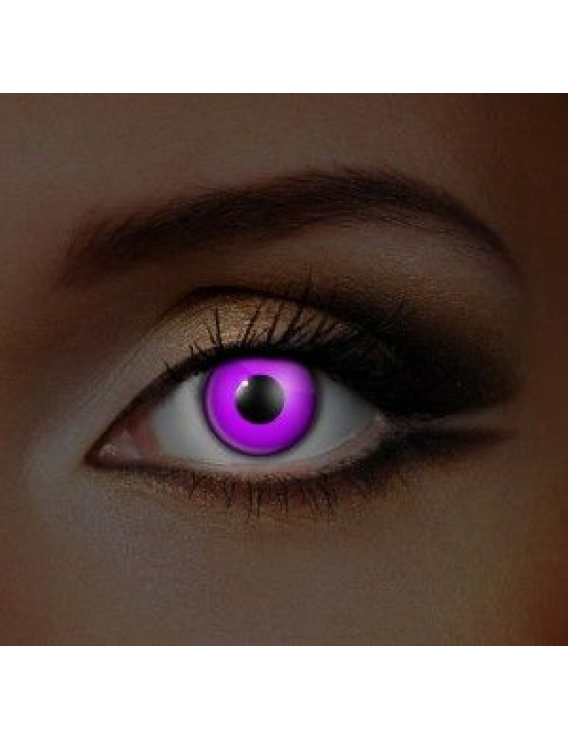 I-Glow UV Violet Eye Accessories (Pair)