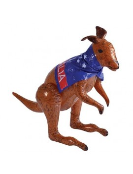 Inflatable blow up kangaroo fancy dress costume Australian party photo booth prop Henbrandt IJ034