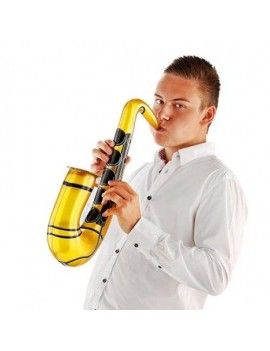 Inflatable blow up prop gold  Saxophone Blues Bros prop Creative Collection FO-21591