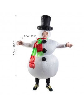 Inflatable Snowman costume FZ1539