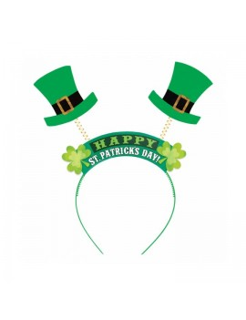 Irish St Patricks Day headband dealy boppers accessory  Henbrandt 16612