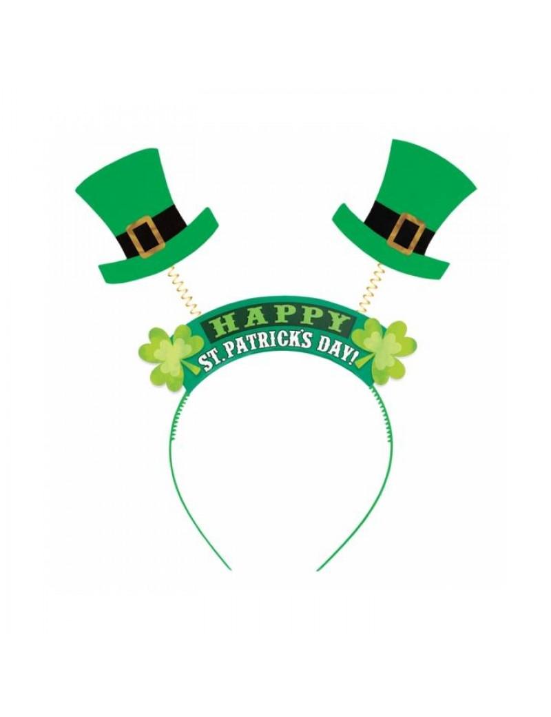 Irish St Patricks Day headband dealy boppers accessory  Henbrandt 16612