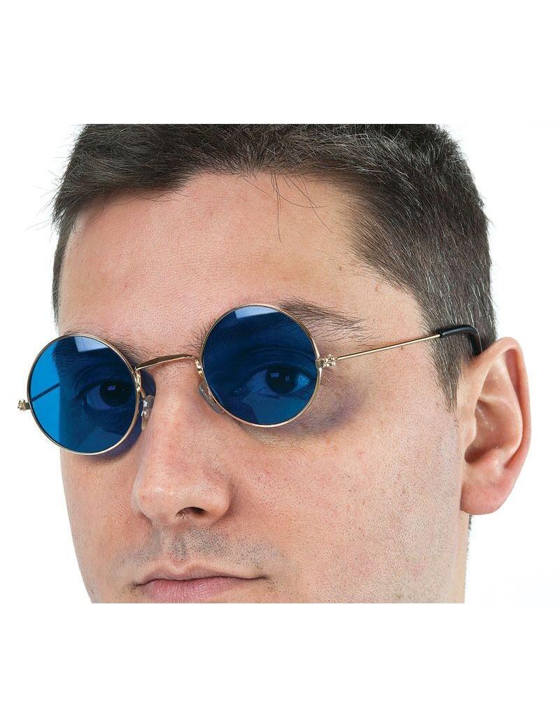 John Lennon 60s Round Glasses Blue