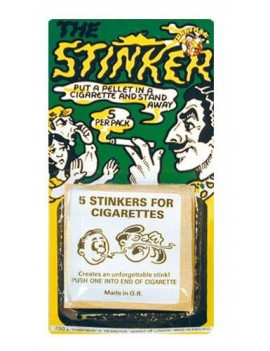 Joke cigarette stinkers fancy dress costume stag party prank Pams Of Gainsborough 23064