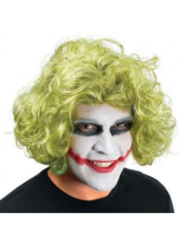 Mad Man green wavy wig Bristol Novelty BW702