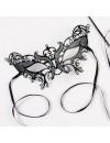Eyemask Laser Cut Metal Black Palmers 0770
