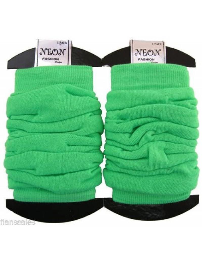 Leg warmers neon green 20072