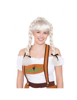 Fraulein Pigtail Blonde Wig