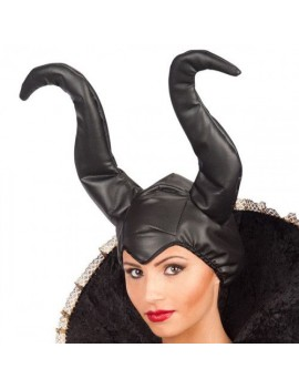 Maleficent head dress horned hat evil queen Book Day  Halloween headdress CA-06129