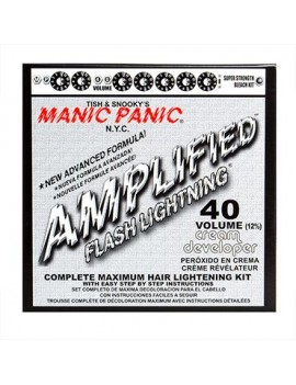 Manic Panic Flash Lightning hair bleaching kit 40 volumn cream formula developer 44203