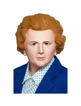 Margaret Thatcher Maggie  Iron Lady fancy dress  Prime Minister 80s  costume mask Smiffys 49124