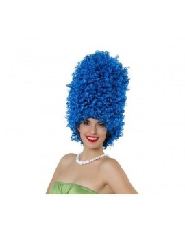 Marge Simpson cartoon 90s ladies  fancy dress costume party wig Atosa AT-15836