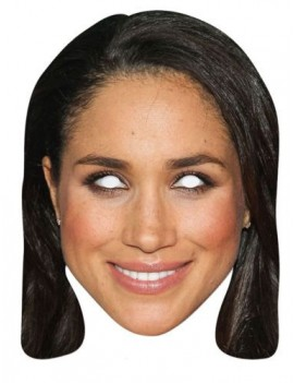 Meghan Markle fancy dress costume party ladies Royalty Princess American celebrity mask Mask-arade