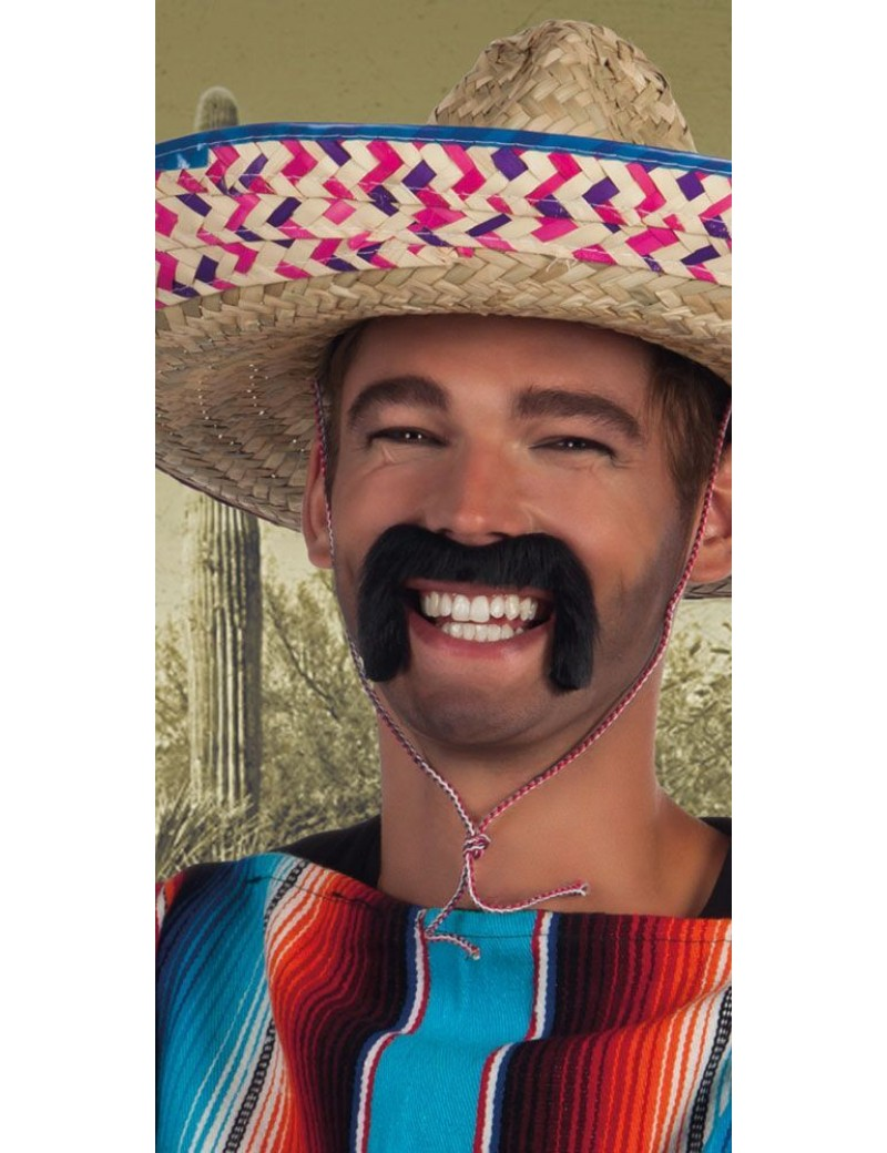 Mexican moustache black Boland Palmers 5162