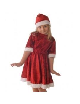 Miss Santa Girls Costume