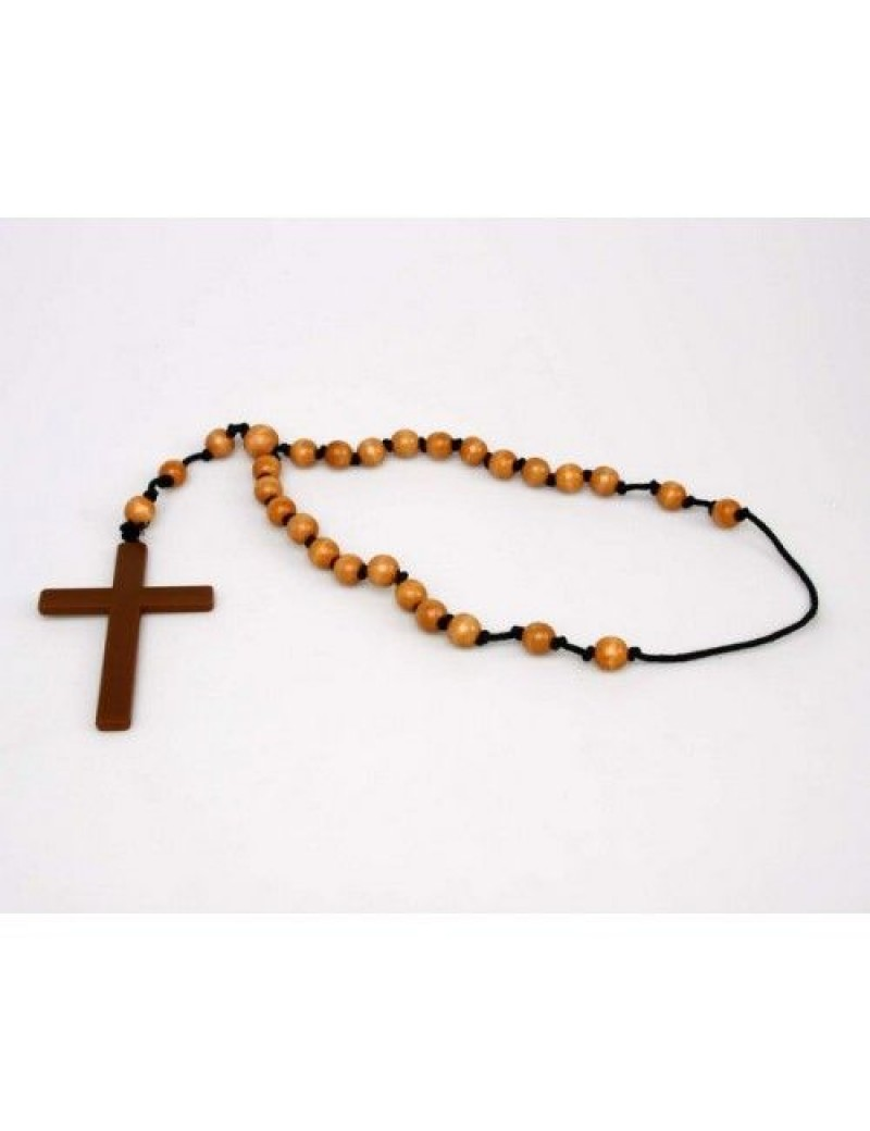 Monk Nuns priest  Halloween fancy dress party rosary beads and cross Creative Collection AT-12688