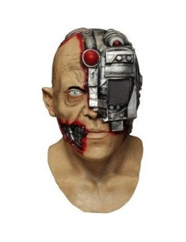 Morph Digital Dudz scanning cyborg Terminator Halloween mens mask Ghoulish Productions GH-10314