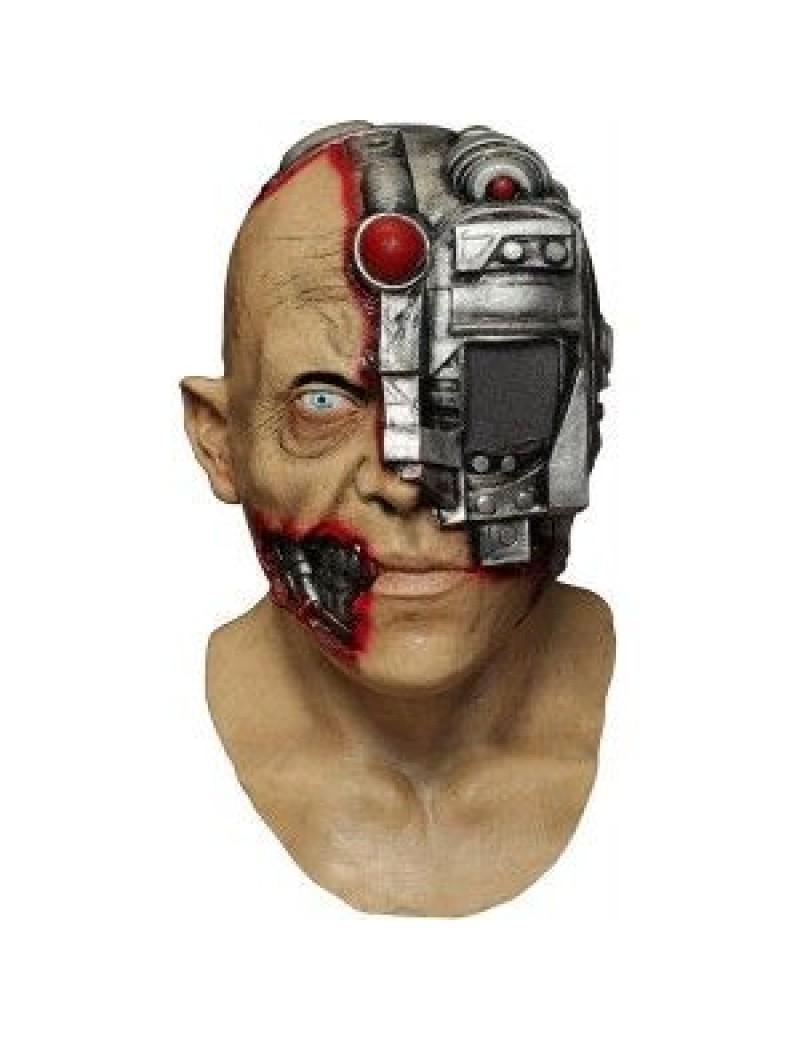 Morph Digital Dudz scanning cyborg Terminator Halloween mens mask Ghoulish Productions GH-10314