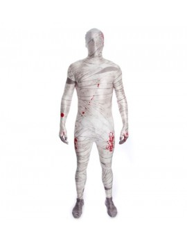 Morphsuit MUMMY mens boys teen fancy dress costume halloween Egyptian party Morph suit MPMU