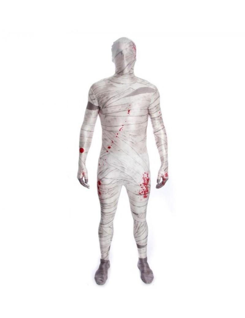 Morphsuit MUMMY mens boys teen fancy dress costume halloween Egyptian party Morph suit MPMU