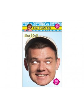 Mrs Browns boys Buster Brady fancy dress costume tv comedy party celebrity mens mask Mask-arade