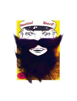 Nautical Beard Black Bristol Novelty MB004