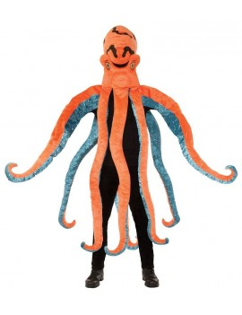 Octopus mens seafood Under The Sea James Bond 80s  Octopussy   costume Bristol Novelty AC872