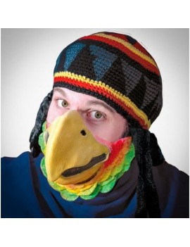 Parrot Beak mens animal bird deluxe latex half face  mask WI-102242