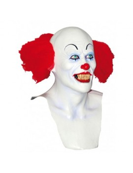 Pennywise Scary Clown IT Halloween costume party mens mask Ghoulish Productions GH-26580